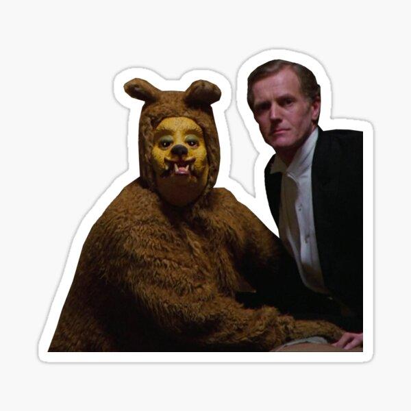El brillo - El oso Pegatina