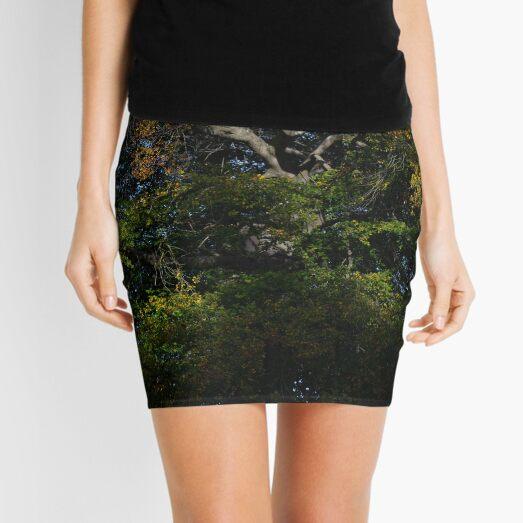 Autumn Stickers Mini Skirt