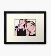 Bailey & Nana Framed Print