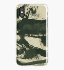 Tree and path iPhone Case
