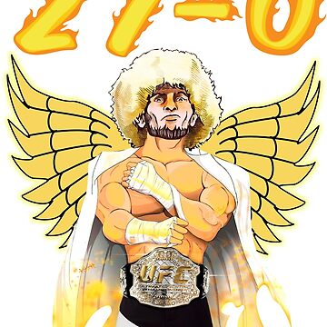 Khabib UFC 229 MMA unbeaten 27 - 0 T Shirt by 2stevos
