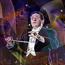 Maestro Of Light (Square Version) - By John Robert Beck by studiobprints