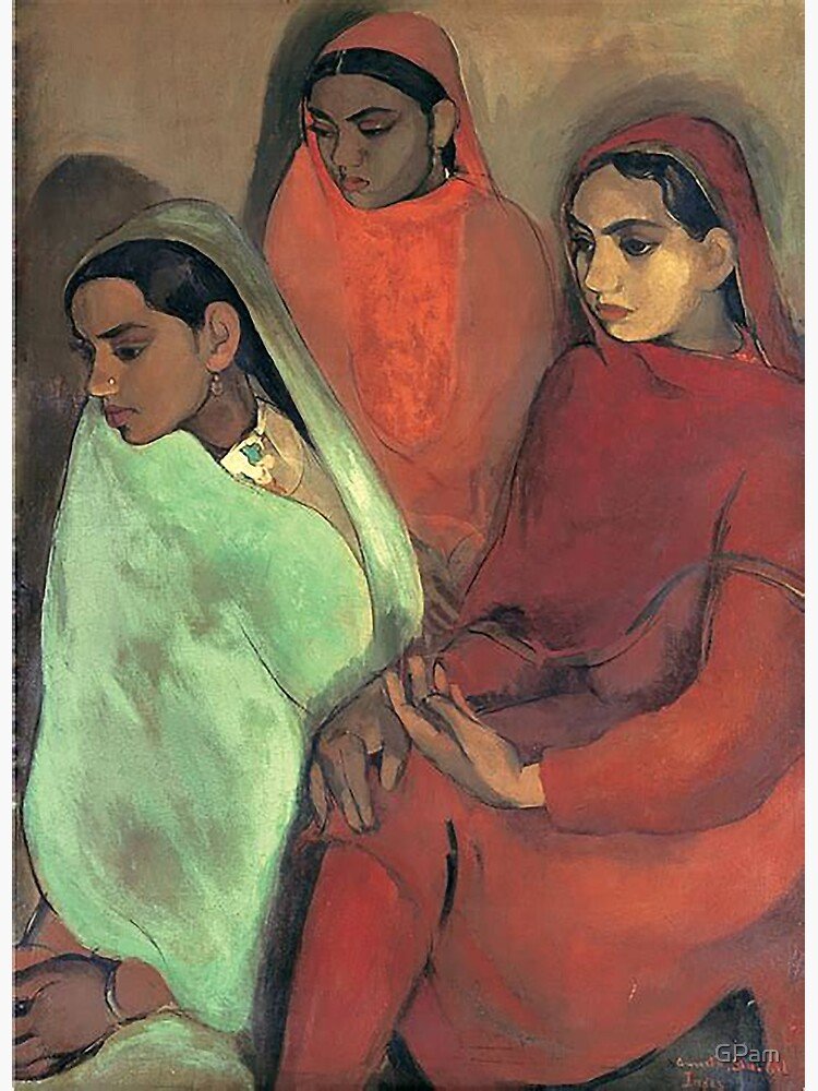 Three Girls - Amrita Sher-Gil by GPam
