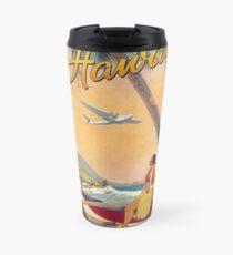 Vintage Hawaii Travel Mug