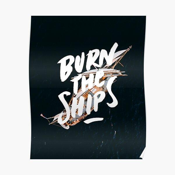 for KING /& COUNTRY Burn The Ships Custom Poster Print Art Wall Decor