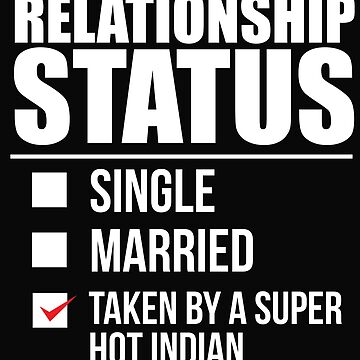 Relationship status taken by super hot Indian India Valentine's Day by losttribe