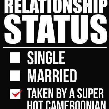 Relationship status taken by super hot Cameroonian Cameroon Valentine's Day by losttribe