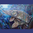 Pike by Yana Art