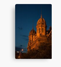 Budapest at night Canvas Print