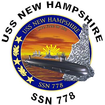 SSN-778 USS New Hampshire by Spacestuffplus