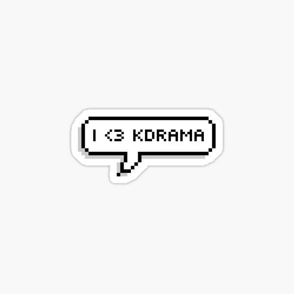 I LOVE KDRAMAS  Sticker