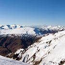 Coronet Peak Panorama by Will Hore-Lacy