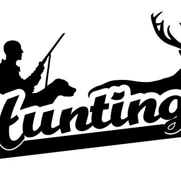 Hunting hunter gift by RetroFuchs