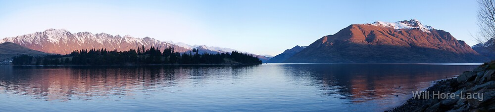 Lake Wakatipu by Will Hore-Lacy