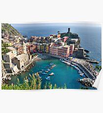 Vernazza, Cinque Terre, Italy Poster