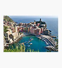 Vernazza, Cinque Terre, Italy Photographic Print