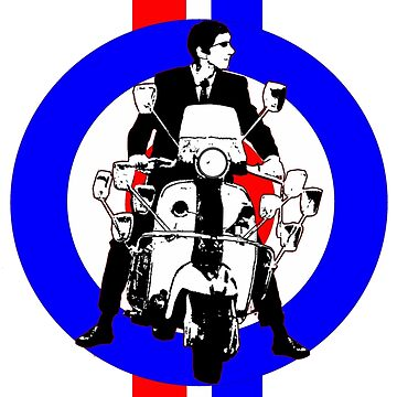 Sixties Mod Rider stripes by Auslandesign