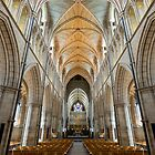 Southwark Cathedral by John Velocci