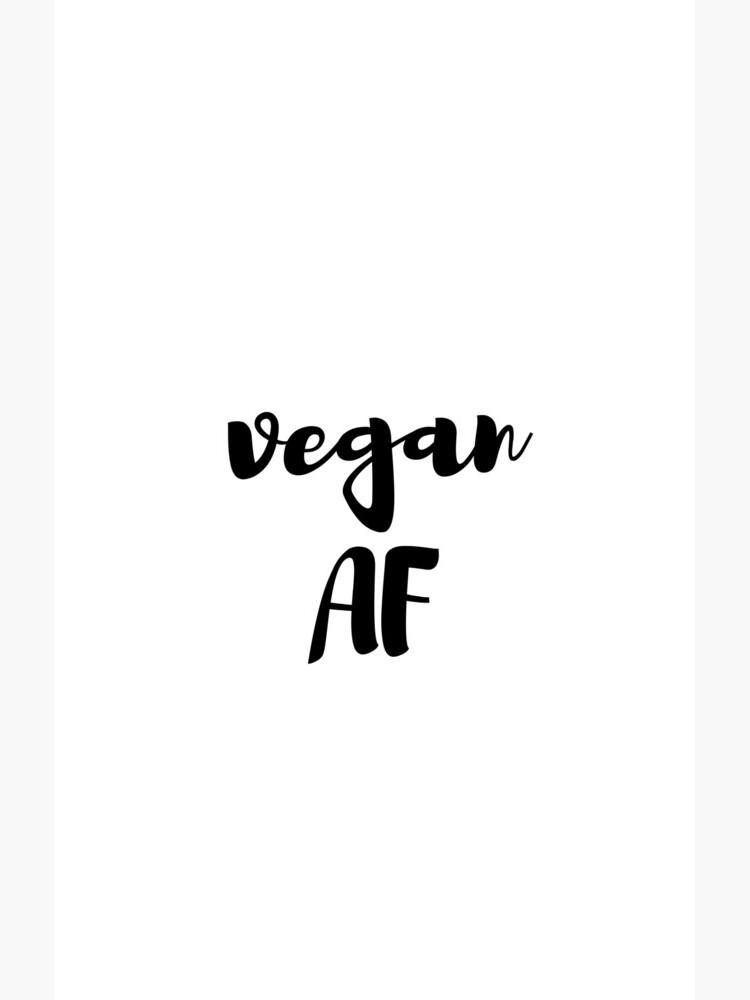 Vegan Af Funny Gift Idea de FunnyGiftIdeas