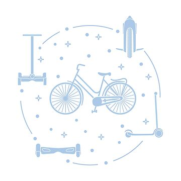 Bike, segway, mono-wheel, scooter, gyroscooter. by aquamarine-p
