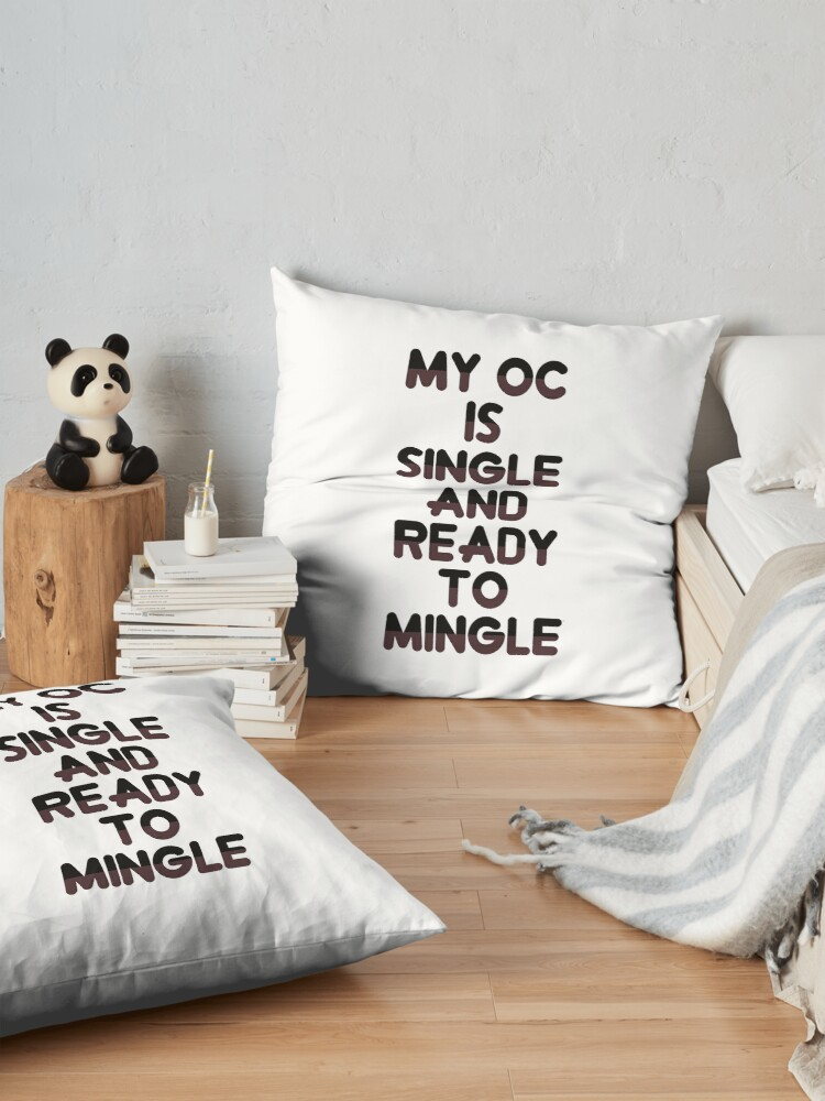 Alternate view of Ready to mingle Floor Pillow