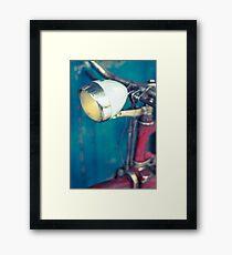 Bicicleta en el Rastro de Madrid. Framed Print