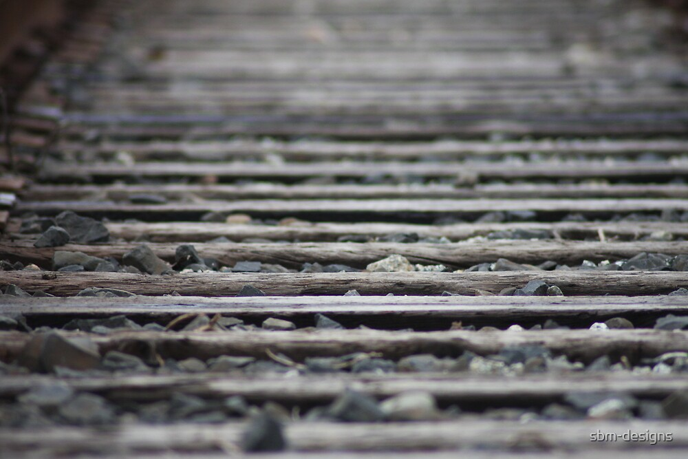 Train Tracks Close-up by sbm-designs