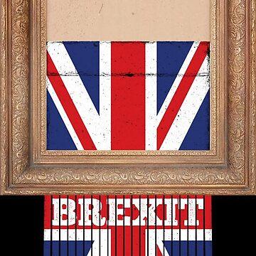 Brexit Banksy by f22design