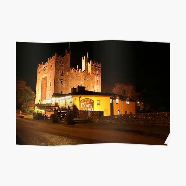 Bunratty Castle Poster