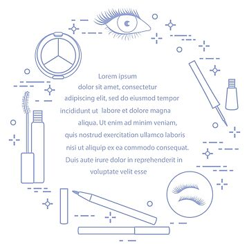 Eye makeup. Decorative cosmetics. by aquamarine-p