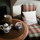 Tea with Badger at the Duchess of Cornwall Inn by niki2028