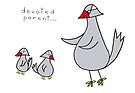 devoted parent by Soxy Fleming