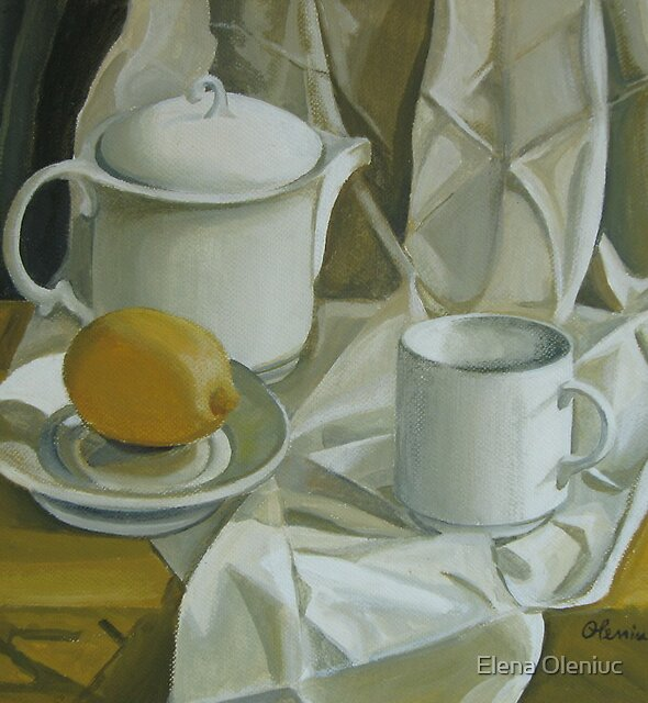 Symphony in white by Elena Oleniuc