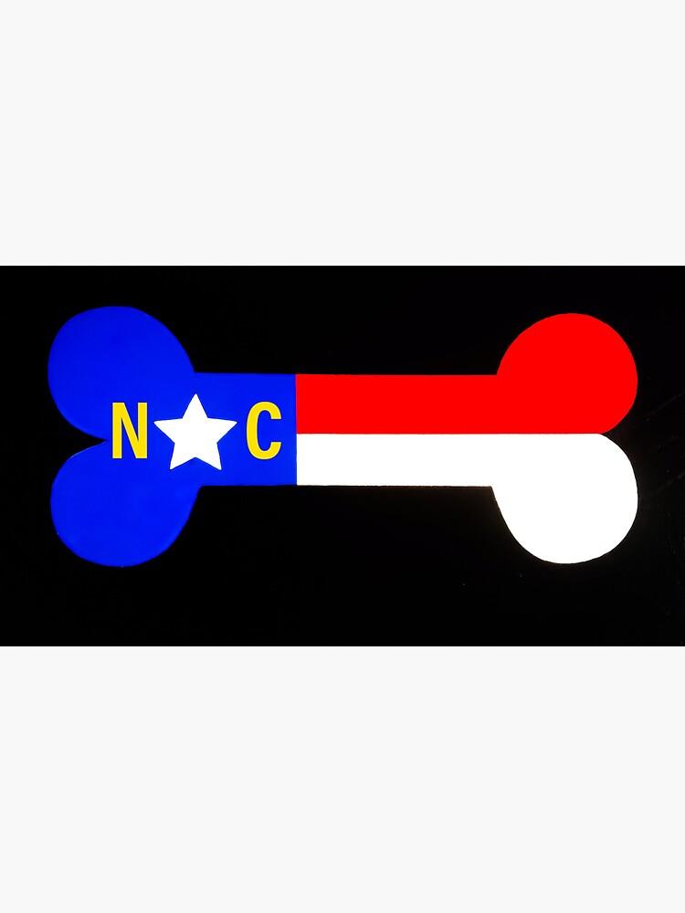 NC Dog Bone by barryknauff