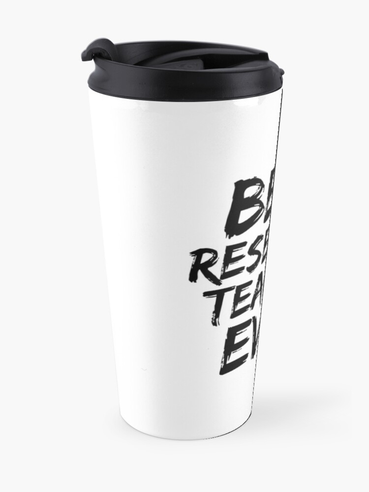 Alternate view of Research Teacher Best Ever Funny Gift Idea Travel Mug
