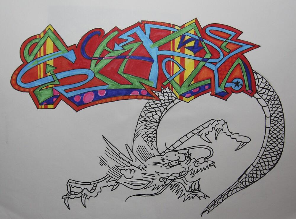 Dragon Arrow by Saphronne Farrell
