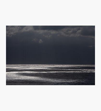 Crete: Lightshow on Mirabello Bay Photographic Print