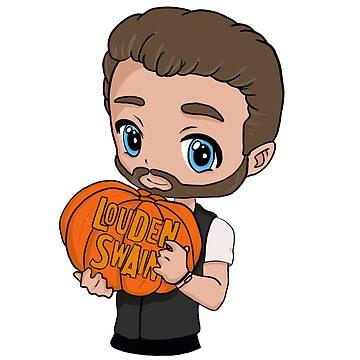 Robbie pumpkin by MistyFigs