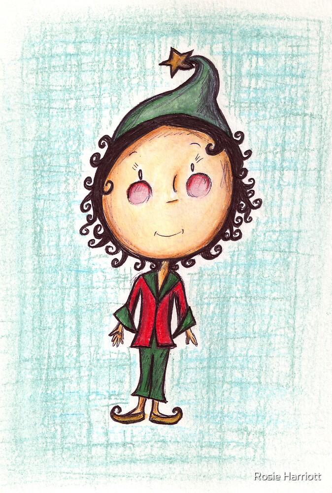 Little Christmas Elf by Rosie Harriott