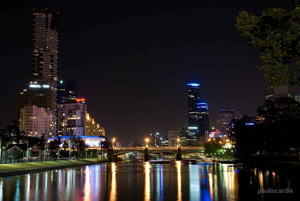 Hot night on the river by paulmcardle