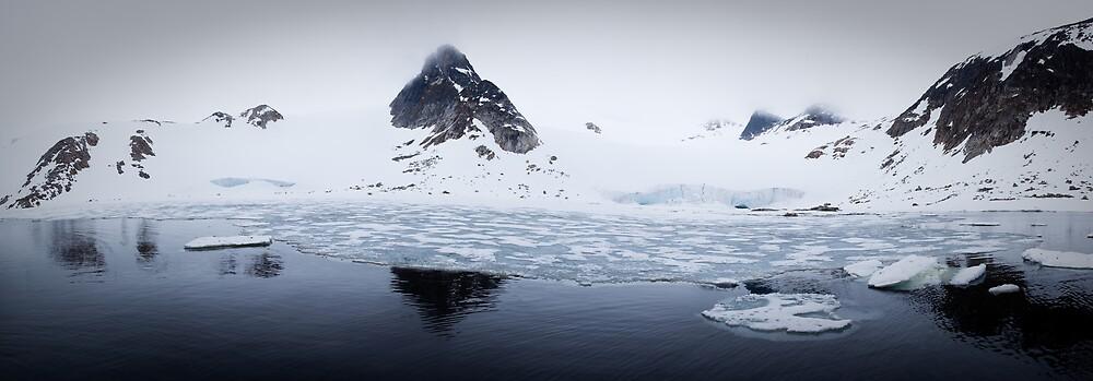 Woodfjord - Svalbard by Phil Bain