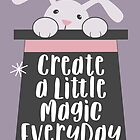 Magician's Rabbit in a Hat | Create Magic  by namibear