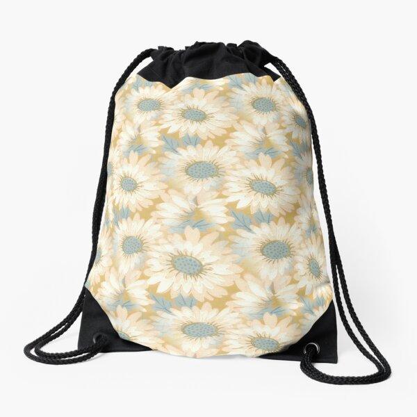 Floral Pattern Drawstring Bag