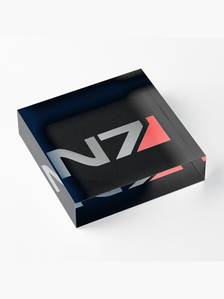 Alternative Ansicht von N7 Mass Effect Grafik Acrylblock