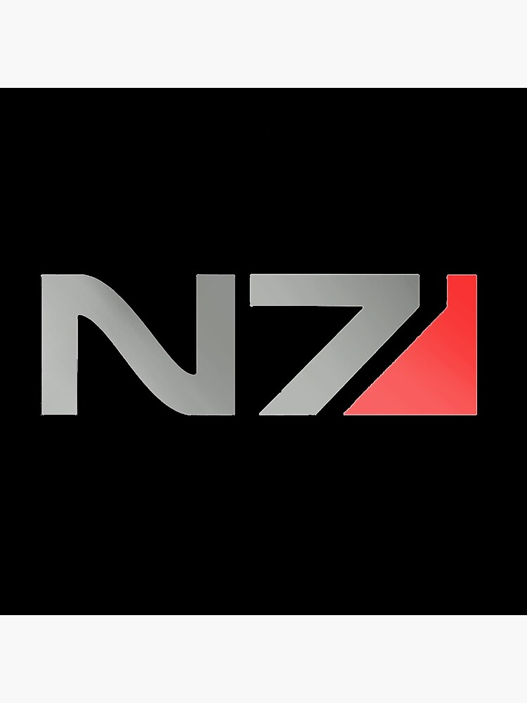 N7 Mass Effect Grafik von PunkyCat