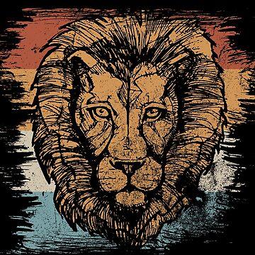 lion by GeschenkIdee