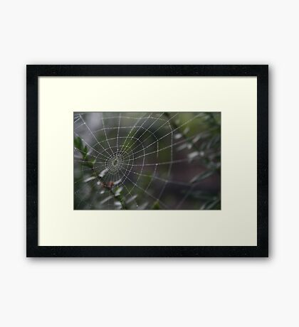 All in a night's work Framed Print
