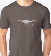 Size comparison chart Unisex T-Shirt