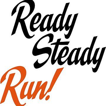 Ready steady run by Vectorqueen