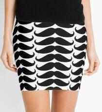 Funny Mustache Mini Skirt